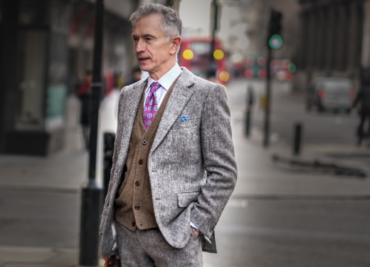 Grey Fox blog @ London Fashion Week Mens AW18