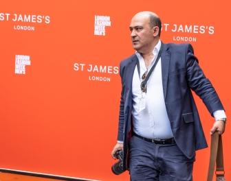 Photographer Pietro Recchia after Jermyn Street Fashion Show SS19