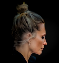 Poppy Delevingne before the Burberry Show 18/2/2018