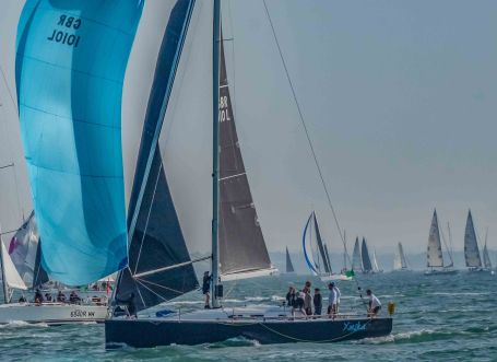 Xinska, Round The Island Yacht Race 2019, Cowes, Isle of Wight