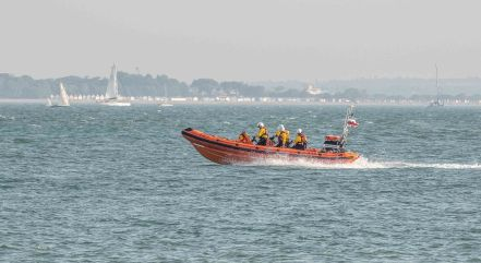 RNLI, Round The Island Yacht Race 2019, Cowes, Isle of Wight
